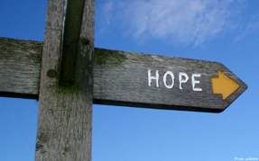 Hope Sign Arrow